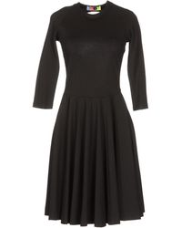 MSGM Kneelength Dress - Lyst