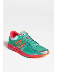 New Balance Green Running Shoe - Lyst