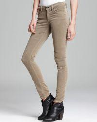 Rag & Bone Jeans The Skinny in Desert Khaki Cord - Lyst