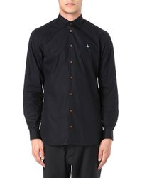 Vivienne Westwood Slim-fit Poplin Shirt - Lyst