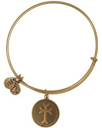 ALEX AND ANI - Armenian Cross Bangle - Lyst
