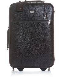 Dolce & Gabbana | Grained Leather Suitcase | Lyst