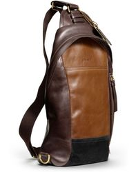 Coach Bleecker Convertible Sling Pack in Colorblock Leather - Lyst