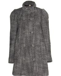Stella McCartney Wool-Blend Tweed Coat - Lyst