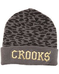 Crooks and Castles - The Cheater Beanie - Lyst