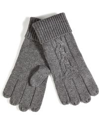 Paul Smith - Cashmere Cable Knit Gloves - Lyst