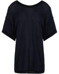 Sonia Rykiel Short Sleeve Sweater - Lyst