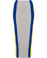 Topshop Side Stripe Maxi Skirt multicolor - Lyst
