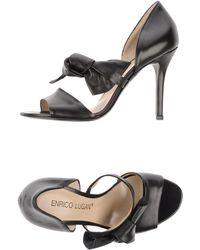 Enrico Lugani - High-heeled Sandals - Lyst