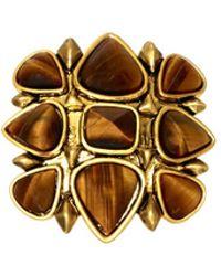 House Of Harlow Kaleidoscope Fingerpick Ring - Lyst