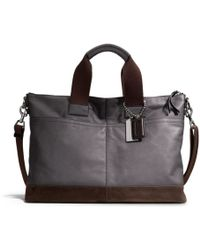 COACH - Thompson Urban Commuter in Colorblock Leather - Lyst