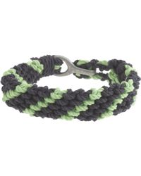 J.Crew - Braided Rope Bracelet in Stripe - Lyst