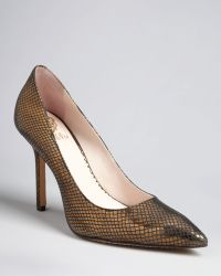 Vince Camuto Pointed Toe Evening Pumps Harty High Heel - Lyst