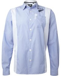 Nza - Fine Stripe Long Sleeve Shirt - Lyst