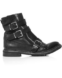 Burberry Prorsum | Hertford Triple Buckle Ankle Boots | Lyst