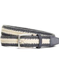 Brooks Brothers - Wool Webbed Belt - Lyst