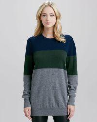Equipment Rei Colorblock Cashmere Sweater - Lyst