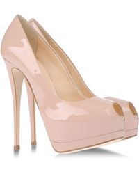 Giuseppe Zanotti Pumps With Open Toe - Lyst