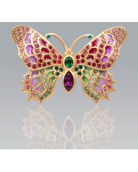 Jay Strongwater - Irie Embellished Butterfly Pin - Lyst