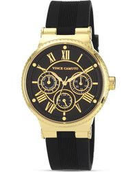 Vince Camuto - Silicone Strap Watch 38mm - Lyst