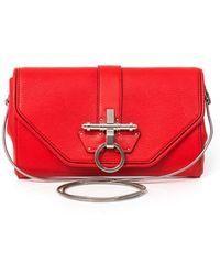 Givenchy - Obsedia Leather Clutch - Lyst