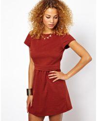 Glamorous Pleated Dress - Lyst