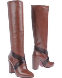History High-Heeled Boots - Lyst