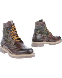 Primabase - Combat Boots - Lyst