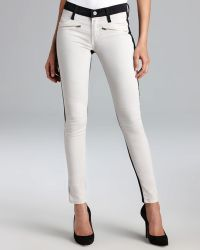 James Jeans Quotation Twiggy Skinny in Flip Side Champagne - Lyst