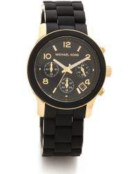 Michael Kors Runway Watch - Black black - Lyst