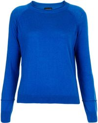 Topshop Knitted Boucle Jumper - Lyst