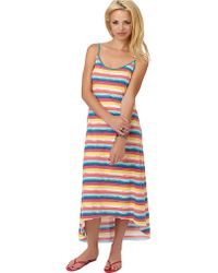 Steve Madden - Cotton Jersey Striped Maxi Sleep Dress - Lyst