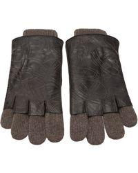 Vivienne Westwood - Leather Detail Glove - Lyst