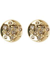 Karen Millen - Crystal Sprinkle Stud Earrings - Lyst