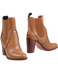 Marc By Marc Jacobs Mid-Heel Ankle Boots - Lyst