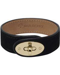Mulberry Black Bayswater Bracelet - Lyst