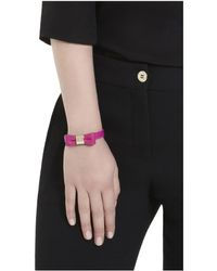 Mulberry Purple Bow Bracelet - Lyst