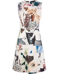 Carven Accumulation-Print Shirtdress - Lyst