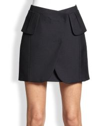 Maison Martin Margiela Mini Wrap Skirt - Lyst