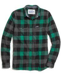 Madewell Penfield&Reg; Chatham Buffalo Plaid Flannel Shirt - Lyst