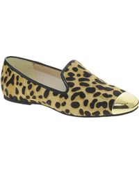 Ted Baker Searey Leopard Slipper Shoes - Lyst
