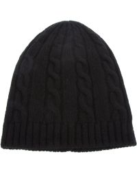 Saint Laurent - Knit Beanie Hat - Lyst
