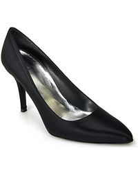 Stuart Weitzman Power - Satin Pump - Lyst