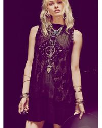 Free People - Fp One Angel Lace Dress - Lyst
