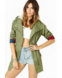 Nasty Gal Dads Army Anorak - Lyst