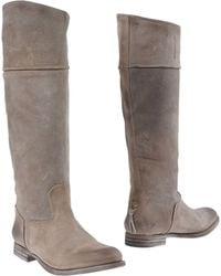 NDC Boots khaki - Lyst