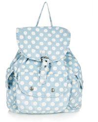 Topshop Spot Backpack - Lyst
