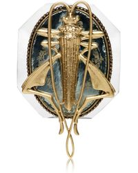 Tory Burch - Grasshopper Brooch - Lyst
