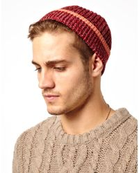 674c415064e Barbour Hunter Trapper Hat.  59 Sold out. ASOS · Sprayground - Asos  Fisherman Beanie Hat in Twist Yarn with Contrast Tipping - Lyst