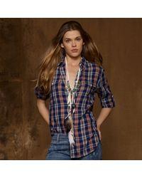Denim & Supply Ralph Lauren Hunter Plaid Utility Shirt - Lyst